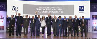 Encuentro fue parte de la tercera reunión del Consejo Consultivo Internacional de la USIL y contó con la participación de destacados exministros, economistas y profesionales, quienes discutieron acerca de estos temas que son de alta prioridad en el Perú y el mundo.