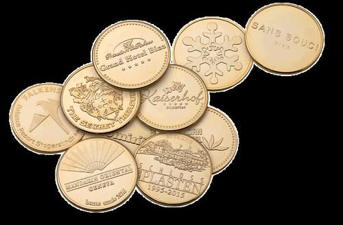 Schwertner 2018 New Years coins