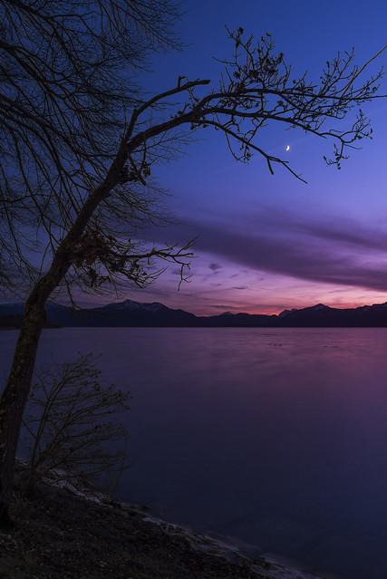 kurz nach Sonnenuntergang, Nikon D750, Sigma 28mm F1.8 EX DG Aspherical Macro