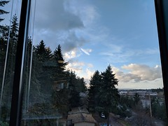 Creeping clouds from office views...