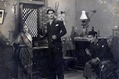 Gulab (Actress of 30s), Prem Adib & Jeevan-Station Master-1942