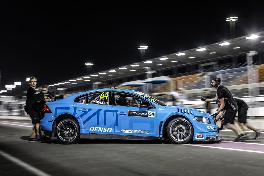 MULLER Yvan (fra), Volvo S60 Polestar team Polestar Cyan Racing, ambiance portrait during the 2017 FIA WTCC World Touring Car Championship race at Losail  from November 29 to december 01, Qatar - Photo Francois Flamand / DPPI