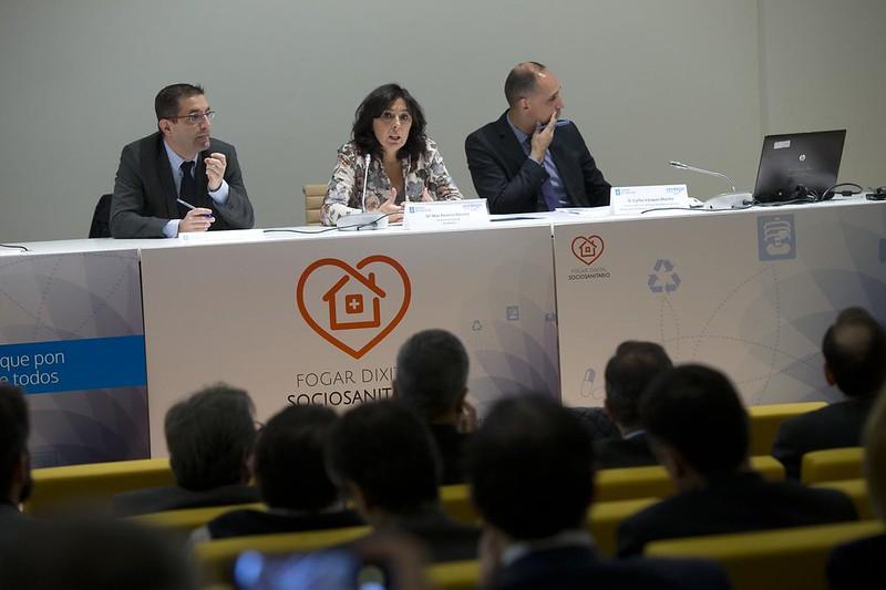 Primeira xornada de traballo con empresas interesadas en participar na busca de solucións para prestar servizos sociosanitarios no fogar