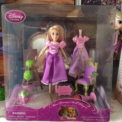 Tangled mini princes doll playset