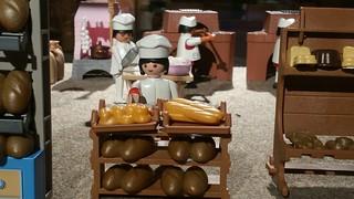 Playmobil de ACYOL Museo del Pan de Mayorga
