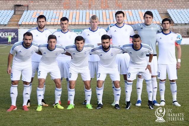 FC Shirak  vs  FC Banants 0-1