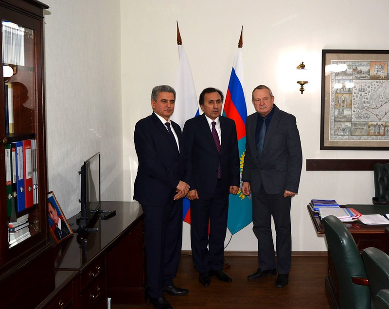 Встреча с Послом Таджикистана в России И.Сатторовым