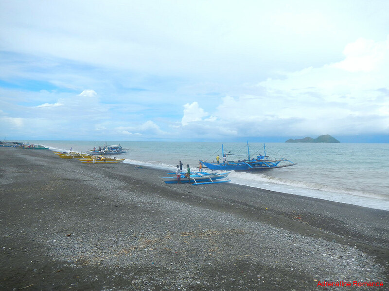 Public beach and fishport in Culasi