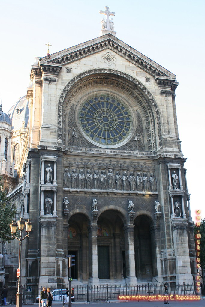Париж. Церковь Сен-Огюстен.