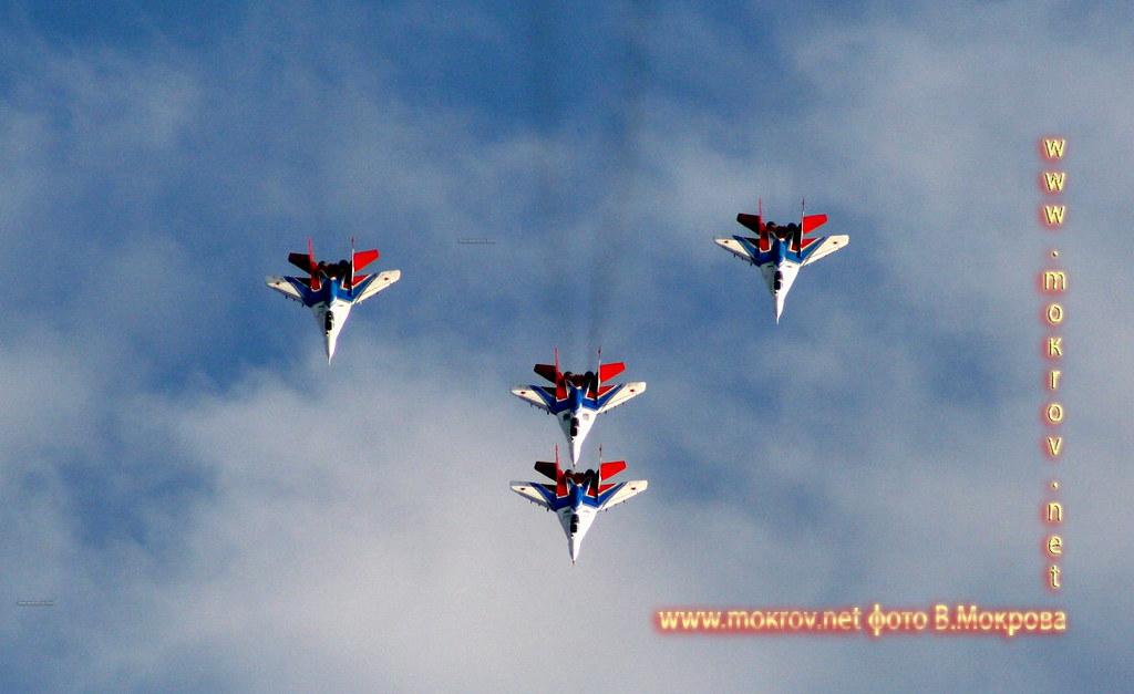 МиГ-29 фотографии сделанные днем и вечером
