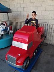 Truck kiddie ride