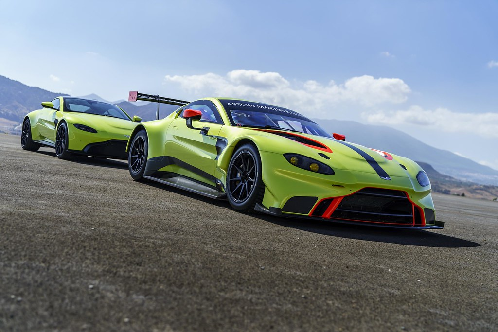 This is the 2018 Aston Martin Racing Vantage GTE