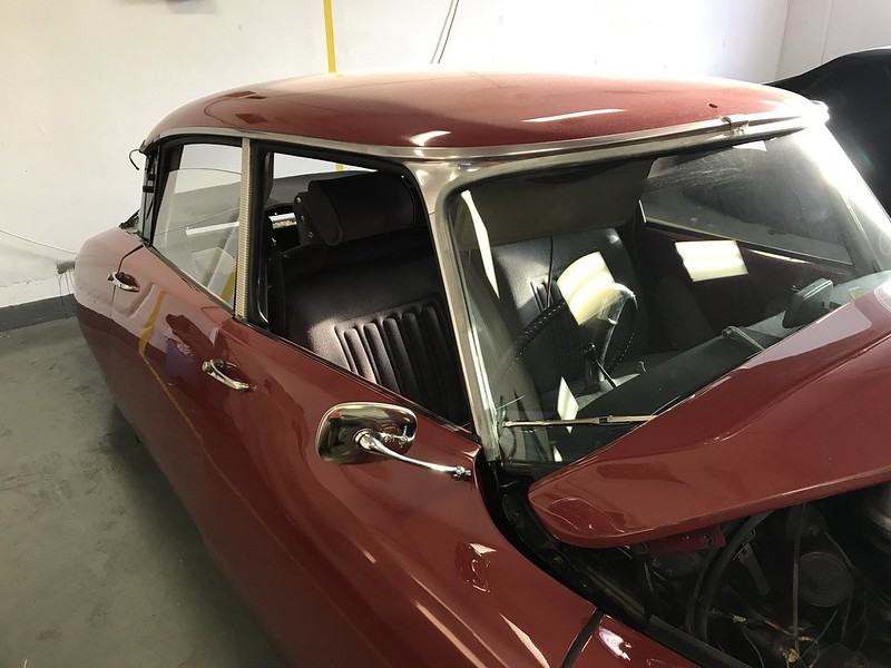 Citroen DS mirror