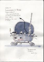 Lunokhod-2 model