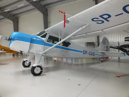 Sprint Air Sp Spa Aircraft At Warsaw Frederic Chopin