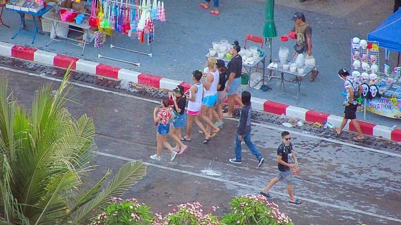 Thai New Year Celebration Pattaya