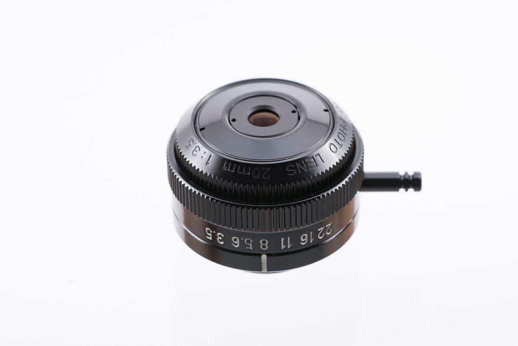 Canon Macro Photo Lens 20mm 1:3.5