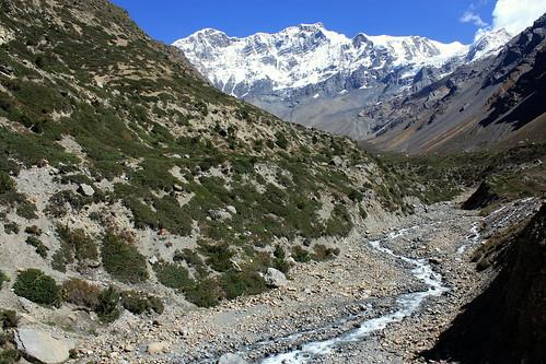 J14 : 4 octobre 2017 : 8ème jour du trek : de Manang (3540 m) à Letdar (4200 m)