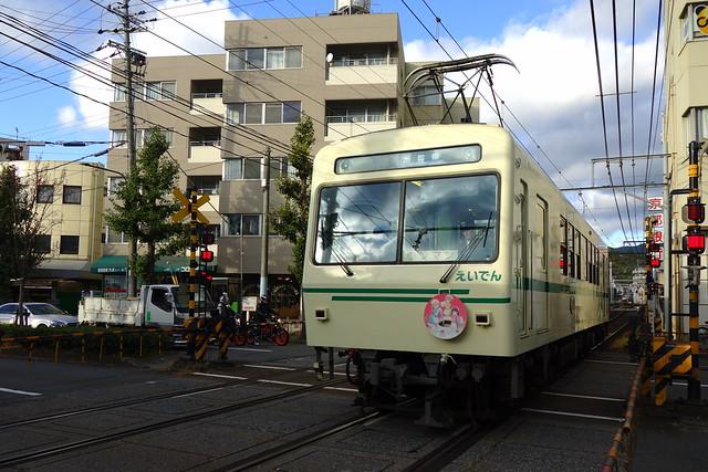 2017/11 叡山電車×ブレンド・S ヘッドマーク車両 #01