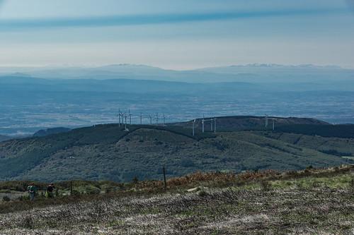 picdenore montagnenoire pradellescabardes southernfrance windturbines walkers