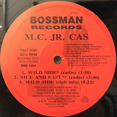 MC. JR. CAS:WILD SIDE(LABEL SIDE-B)
