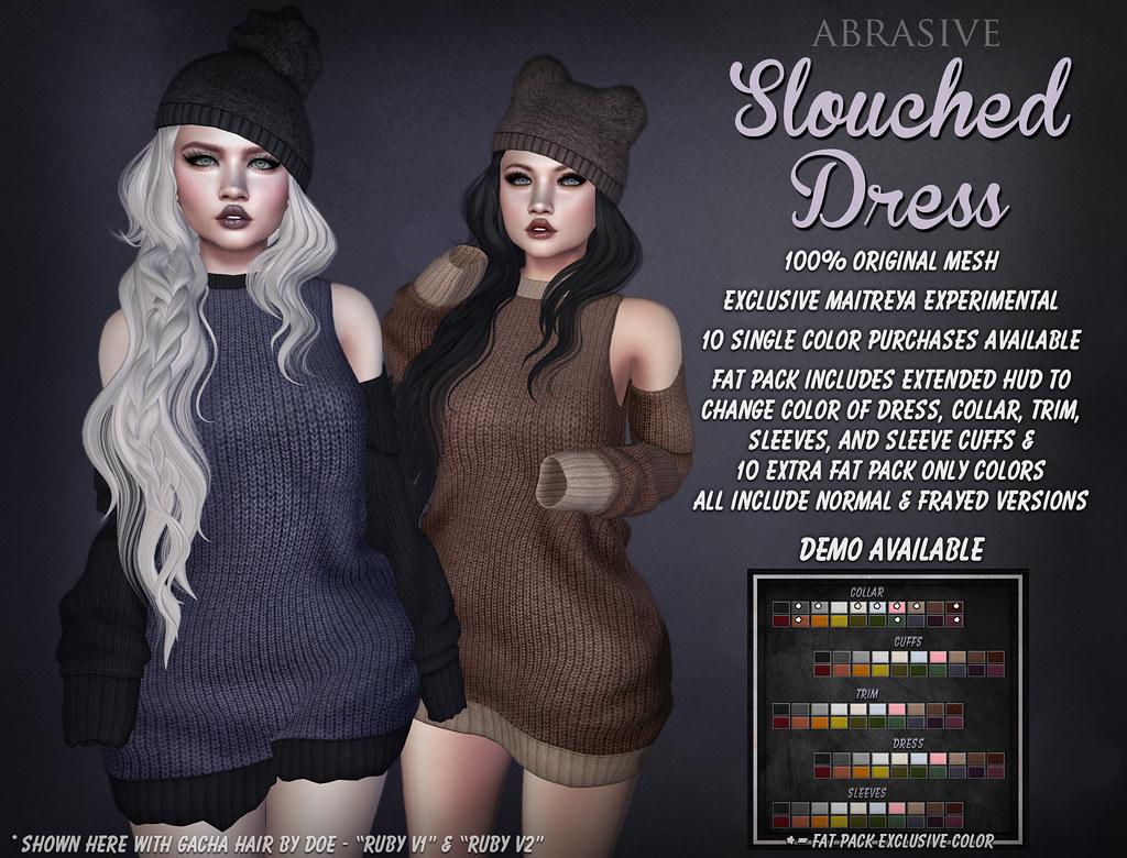 Slouched Dress @ Sad November 2017