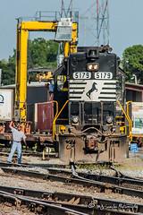 NS 5179 | EMD GP38-2 | NS Forrest Yard