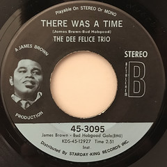 THE DEE FELICE TRIO:THERE WAS A TIME(LABEL SIDE-A)