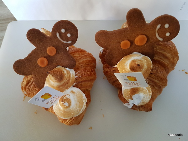 Gingerbread Man Croissants