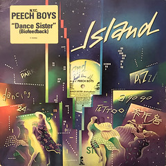 N.Y.C. PEECH BOYS:DANCE SISTER(BIOFEEDBACK)(JACKET A)