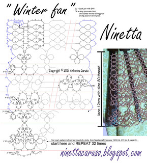winter fan pattern