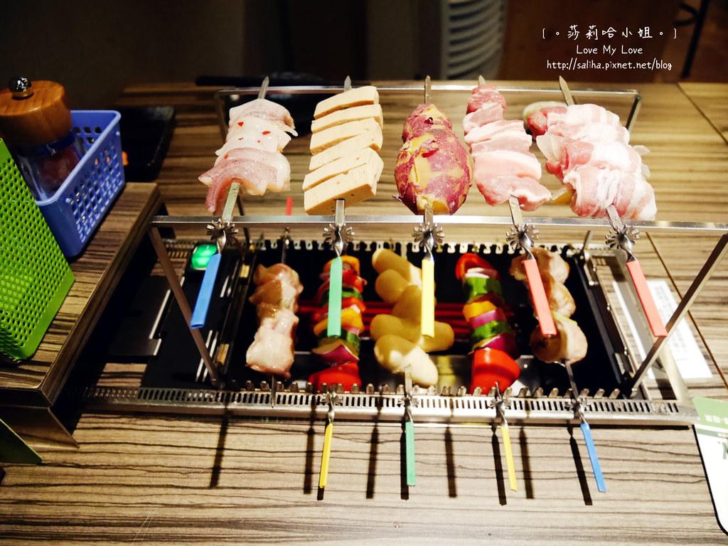 台北東區國父紀念館站附近平價餐廳談天自助燒烤串燒
