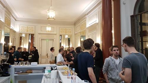Soirée de sortie de Firefox Quantum à Mozilla Paris