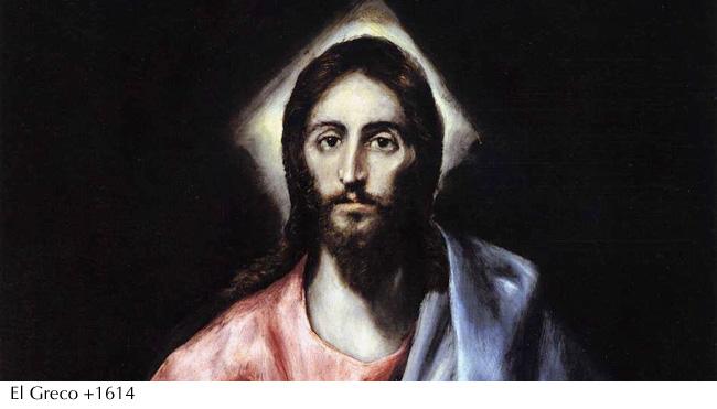 El Greco- Jesucristo