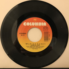 MARIAH CAREY:SOMEDAY(RECORD SIDE-B)