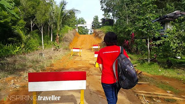 Menuju Batas Negara di desa Temajuk, Kalimantan Barat