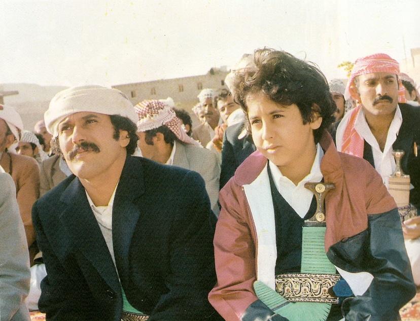 Young_Ali_Abdullah_Saleh_and_his_son