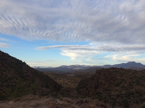 Lost Dutchman nice clouds