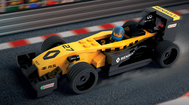 Renault R.S. 17 Speed Champions Scale LCP set