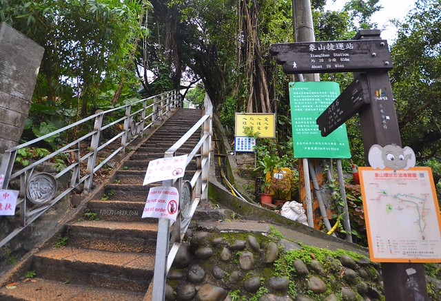 elephant mountain taipei start trail