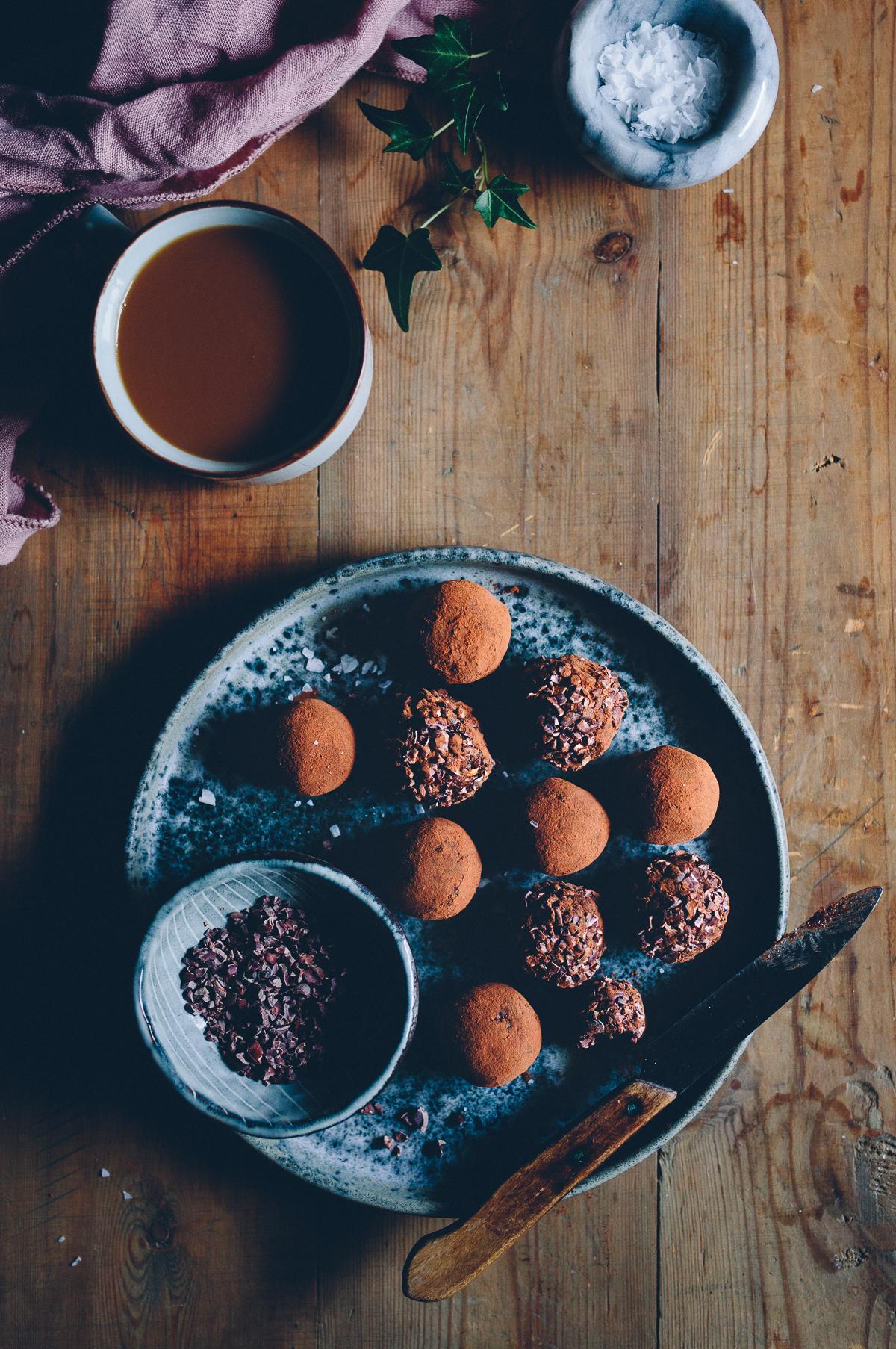 Lyxiga veganska chokladbollar | Cashew Kitchen