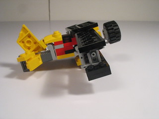 Folding wing bi-plane and transport truck 018