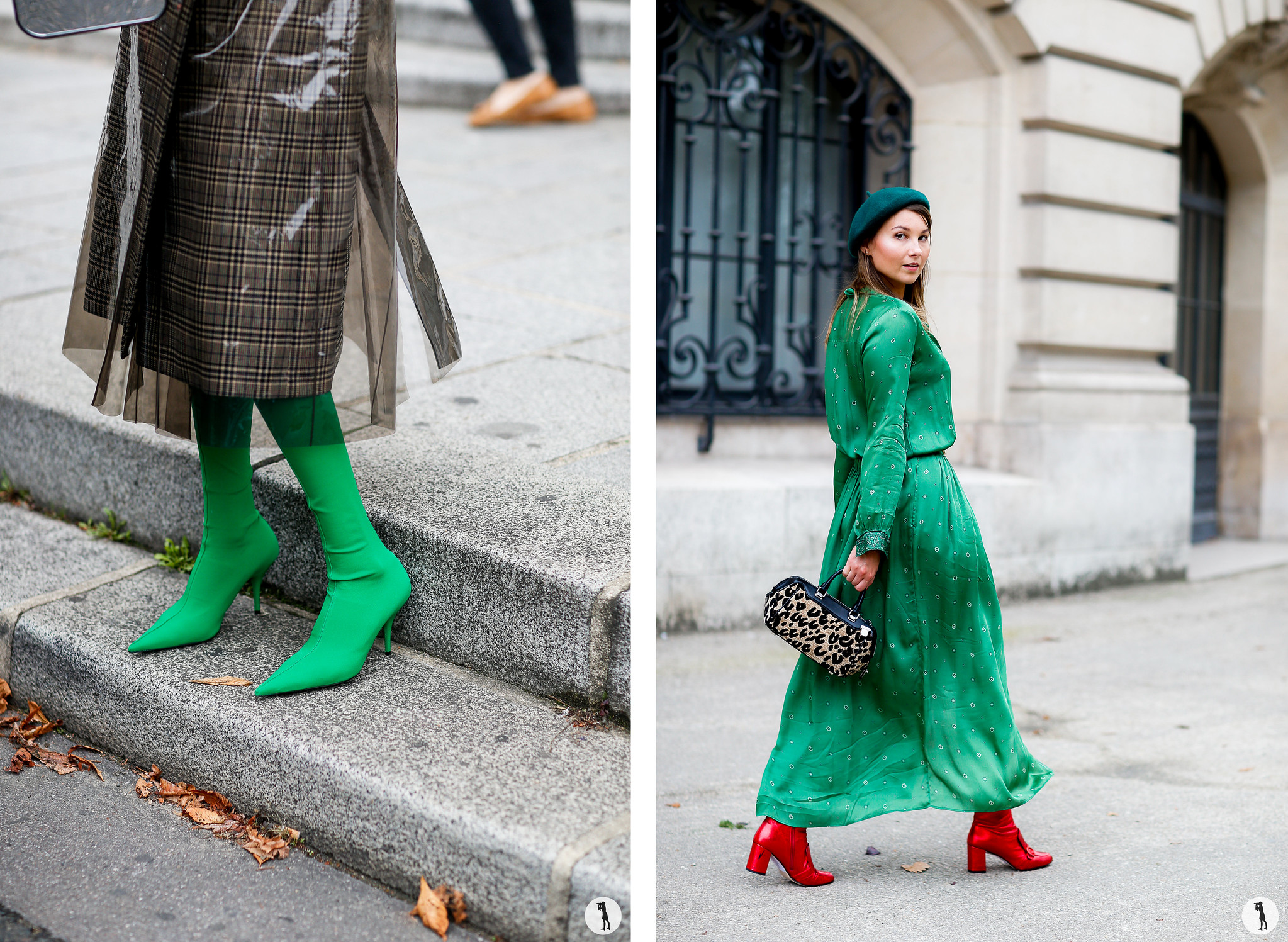 Close up and Angelica Ardasheva - Paris Fashion Week SS18