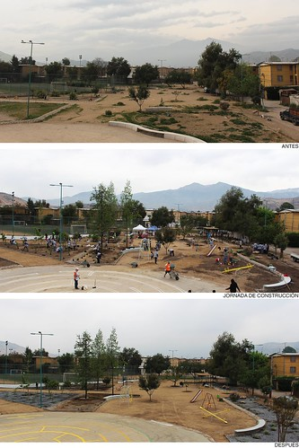 Plaza Claudio Arrau II 'El renacer del 40' | Colina | Indesa