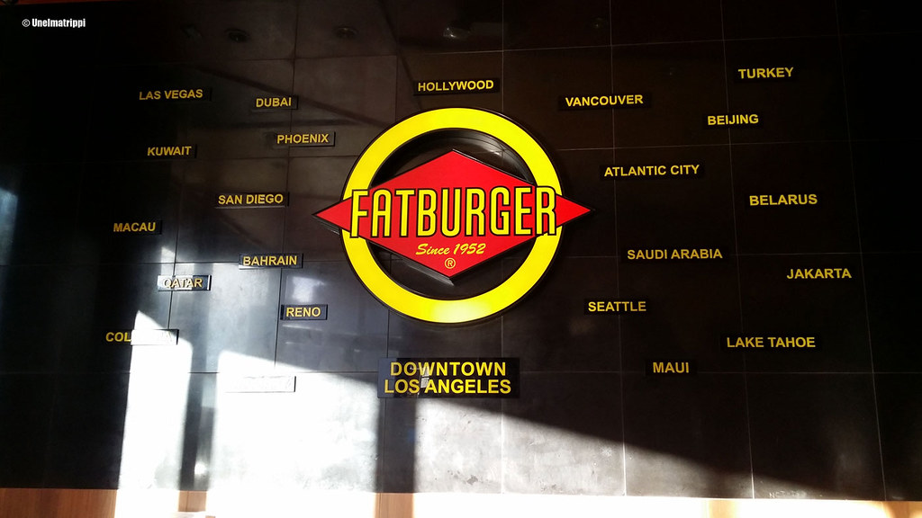 Fatburgerin kyltti, Downtown Los Angeles