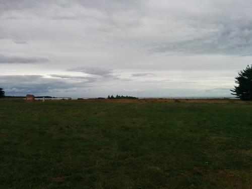 Looking out to sea #pei #princeedwardisland #belfast #campbuchan #scouts #northumberlandstrait #latergram