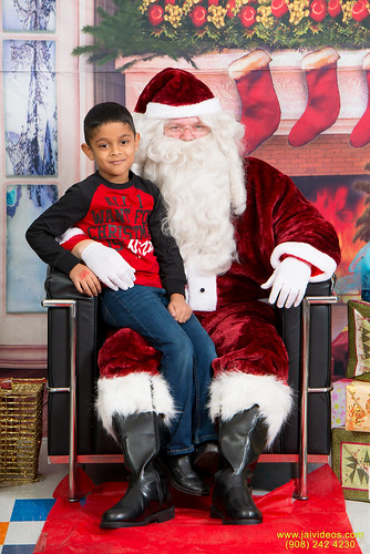 Santa at Teecs-23