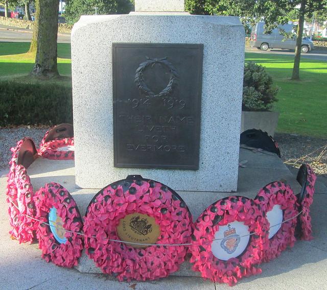 Castle Douglas War Memorial Dedication