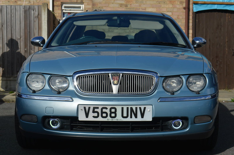 NEW!!! Rover 75 MKI and MKII LED Halo Ring DRL Fog Lights! - The 75 ...