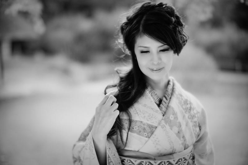 Kimono beauty (Cocoro Kusano)